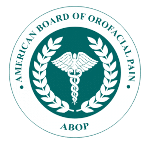American Board Of Orofacial Pain Logo, Best Los Angeles TMJ specialist in Los Angeles
